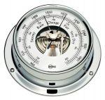 Barigo Tempo S Chromed brass Barometer 88x25mm #OS2868002