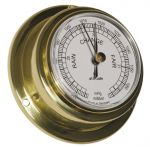 Altitude 842 Polished brass Classical Barometer Ø95xh40mm Ø70mm Dial #OS2875001