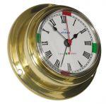 Altitude 842 Polished brass Clock Ø95xh40mm Ø70mm Dial #OS2875002