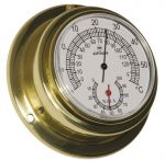 Altitude 842 Polished brass Hygrometer/Thermometer Ø95xh40mm Ø70mm Dial #OS2875003