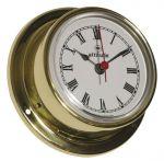 Altitude 831 Polished brass quartz Clock Ø71xh29mm Ø57mm Dial #OS2883101