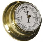 Altitude 831 Polished brass Barometer Ø71xh29mm Ø57mm Dial #OS2883102