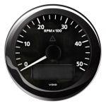 VDO Contagiri 5000 RPM 12/24V Ø85mm Nero ViewLine #OS2758002