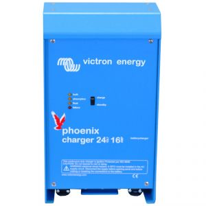 Victron Energy Phoenix  Series Battery Charger 24V 16A #UF64902E