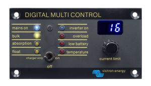Victron Energy Digital Multi Control Panel 200/200A #UF66717W