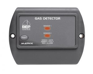Uflex 600-GD Rilevatore Gas BEP con sensore GPL Benzina e Metano #UF68008A