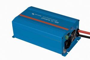 Victron Energy Inverter Phoenix 12V 800W Schuko outlet #UF68056M