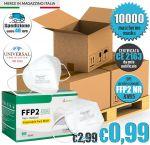 Mascherina FFP2 KN95 Certificata CE Baner BT-005 10000Pz #N90056004604-10000