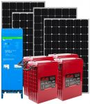 Kit Fotovoltaico 24v 1,24Kw Inverter 24v 1,6Kw e Batterie 11Kwh #N54130200327
