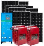 24v 2.48Kw Photovoltaic Kit 24v 3Kw Inverter and 11Kwh Batteries #N54130200328