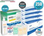 Pacchetto Famiglia Mascherine chirurgiche Tipo IIR e DPI FFP2 KN95 Certificate #N90056004512