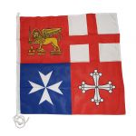 Naval Jack of the Italian Republic 80x80cm #FNI5252097