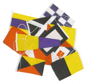 Dressing ship flags with 40 international code flags 20X30 cm #FNI5252120