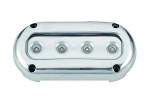 LED Underwater light 4 x 3W 10-30V Cold light 5500-6300K #FNI4000239