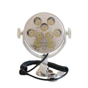 Proiettore orientabile a LED 9 x 3W 12/24V 545 lumens #FNI4040403