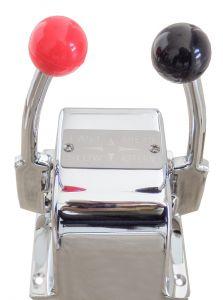 Chrome-plated Double lever control box #FNI4241005