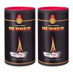 KIT 200 BIO OIL Burner Firestarter Firelighters for Barbecue Fireplace Stove #N400092300302