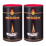 Kit Burner Firestarter Accendifuoco BIO OIL 200 Bustine per Barbecue Camino Stufa #N400092300302
