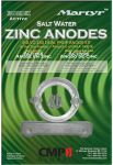 Set Zinc anodes for Volvo 280 Dual Prop #N80607230222