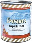 Epifanes Rapidclear semi-gloss wood finish Transparant amber 750ml #N71447000000