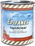 Epifanes Rapidclear semi-gloss wood finish Transparant amber 750ml #N71447000000