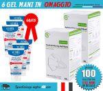 OFFER Package 100 FFP2 Masks + FREE 6 Sanitizing Gels #N90056004516