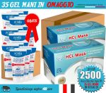 OFFER Package 2500 Surgical Masks + FREE 35 Sanitizing Gels #N90056004519