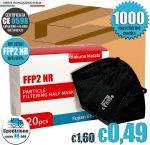 FFP2 NR Hakuna Matata LQTA11 Black Mask EC 0598 min 1000 #N90056004406-1000