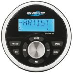 AQUATIC AV AQ-WR-5F Wired Remote Control Ø92mm IP65 for MP5 Stereo #OS2954891