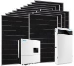 5.46kW Solar Kit with Inverter and 10.74kWh Lithium Battery Storage #N54130200422