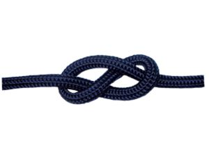 200m Spool Ø8mm Navy Blue Double Braid Sinking  Mooring Rope #FNI0804208BL