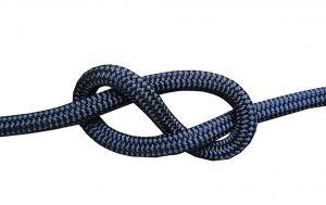 100mt Spool Ø16mm Navy Blue Double Braid Mooring Rope #FNI0804316BL