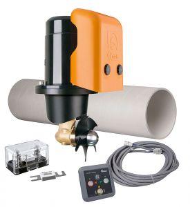 Quick BTQ125-30 Bow Thruster Kit 12V 30Kgf Push button control #Q50810008