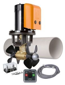 Quick BTQ185-65 Bow Thruster Kit 12V/24V 65Kgf Joystick Remote Control#Q50810018