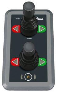 Quick BTQ TCD1044 Twin Bow Thruster Joystick Control Panel #QTCD1044