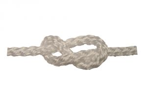 100m Spool Square Line White Mooring Rope Ø22mm #FNI808722