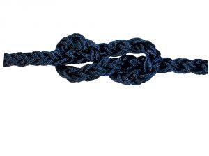 Bobina da 100mt Treccia Square Line Blu Navy Ø16mm #FNI808816