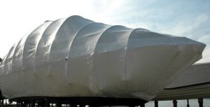 Shrink wrap boat cover width 14mt 50mt roll #FNI6565564