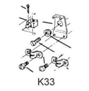 Accessori scatole comando - K33 - kit per cavi #UT38378D