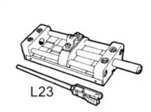Lever control accessories - L23 - selector unit #UT31649B
