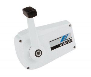 Ultraflex B89 Single lever Engine control White #UT36151G