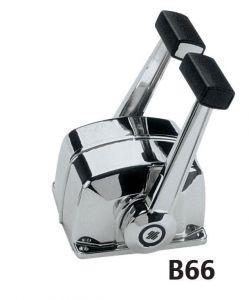 Scatola comando  B666 Cromata 2 motori #UT40657J