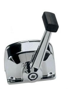 Ultraflex B76 Engine control box - chromed - 1 motor - with trim #UT35312E