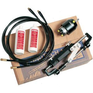 Ultraflex Hydraulic Steering Systems Nautech 1.2 for outboard with tube 6mt #UT39993U