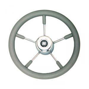 Volante grigio V58G Ultraflex 40cm a magnetico in acciaio inox 38650F #N110753206330