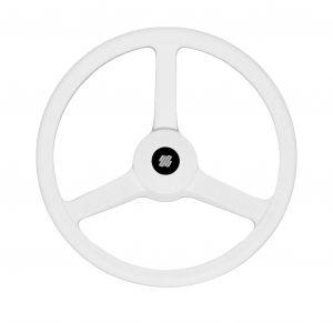 Volante bianco V32W Ultraflex 33,5cm in plastico antiurto 35509R #N110753206344