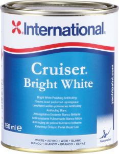 International Antivegetativa Cruiser Bright White 0,75lt Bianco Brillante #N702458COL1200