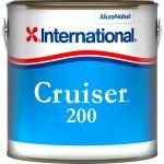 International Antivegetativa Cruiser 200 2,5lt Bianco Brillante #N702458COL1201