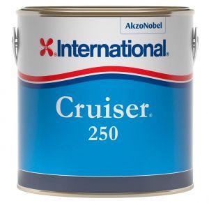 International Polishing Antifouling Cruiser 250 2.5Lt Red YBP151 #458COL1001