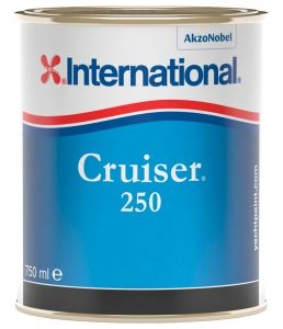 International Cruiser250 Antivegetativa 0,75 Lt Azzurro YBP152 #458COL1011